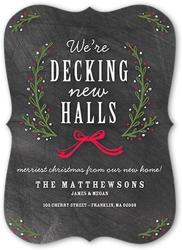 Decking The New Halls Moving Announcement