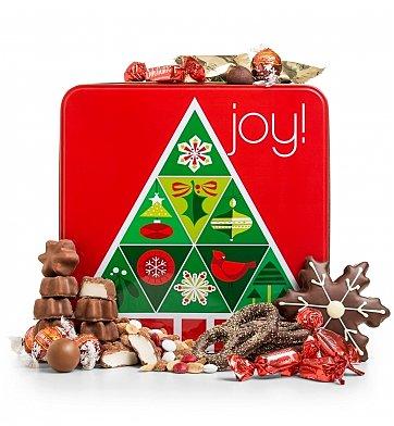 Sharing Winter Joy Chocolate Tin