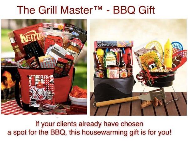 Grill Master BBQ Realtor Closing Housewarming Gift