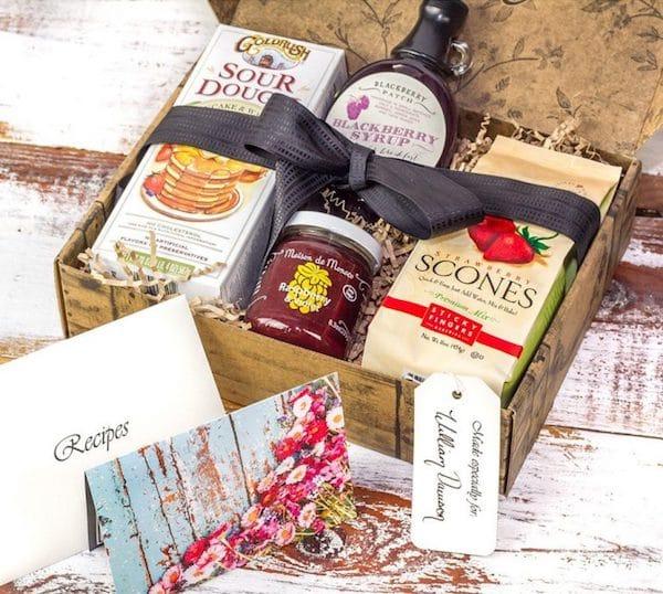 TasteTrunk Breakfast in Bed Realtor Closing Housewarming Gift