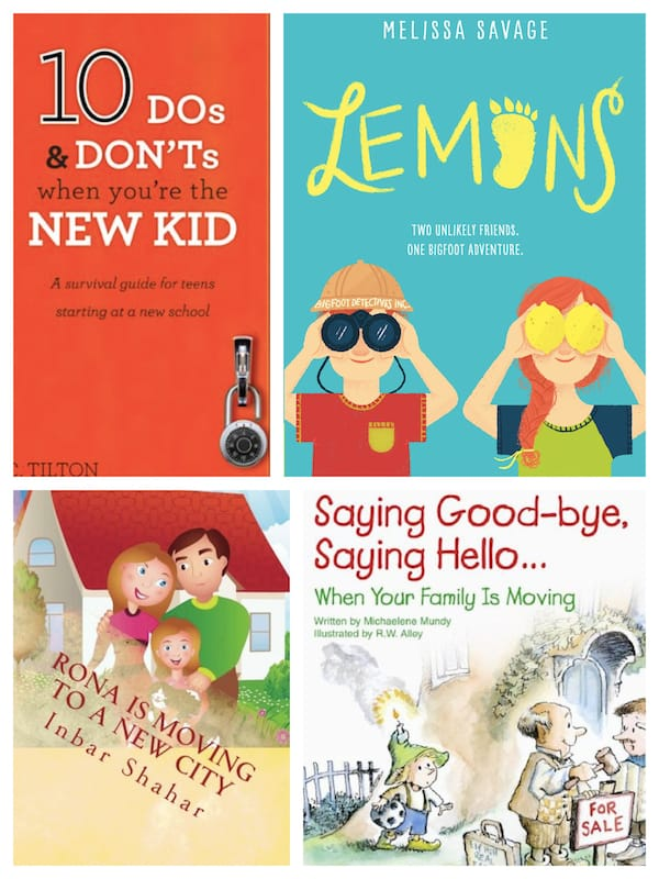 Kids Moving Books