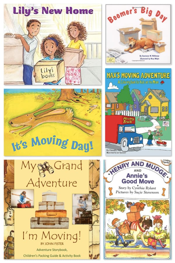 Moving Day Books for Kids