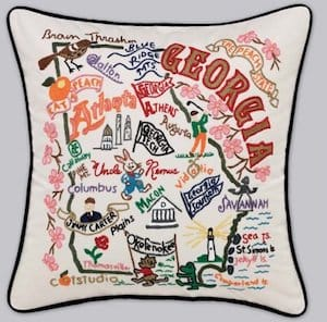 Decorative State Pillows Realtor Closing Thank You Housewarming Gifts