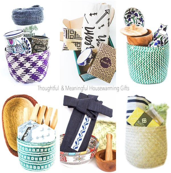 GlobeIn Artisan Baskets Realtor Closing Housewarming Gifts