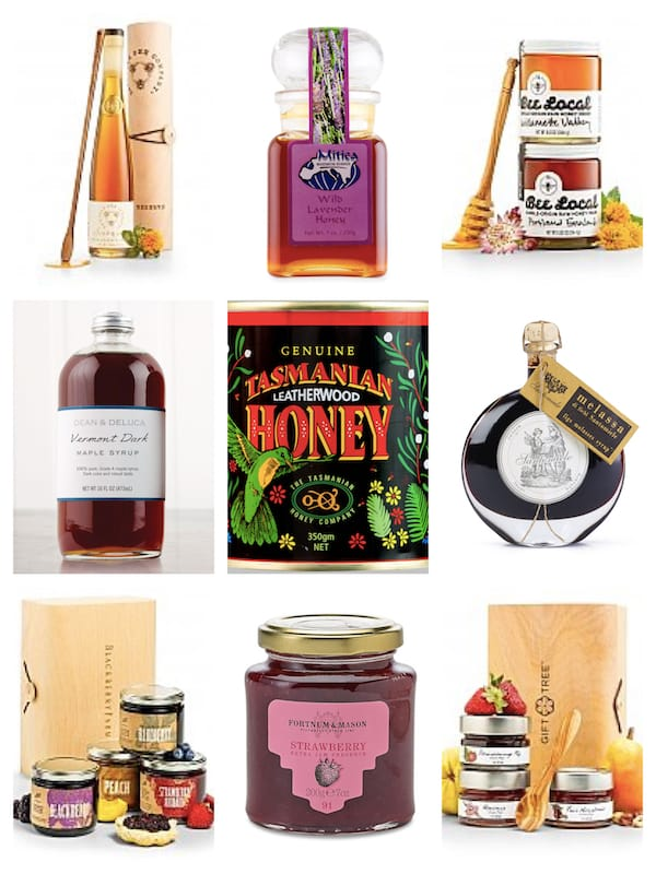 Fabulous & Meaningful Realtor Closing Gifts - Honey Jams and Syrups