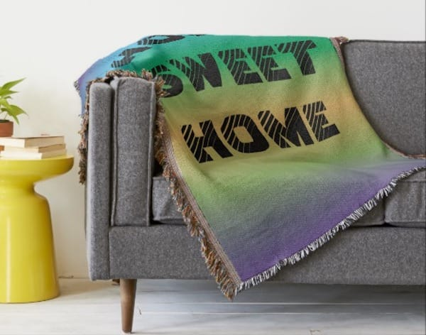 Home Sweet Home Throw Blankets, Fabulous & Meaningful Realtor Closing Gifts