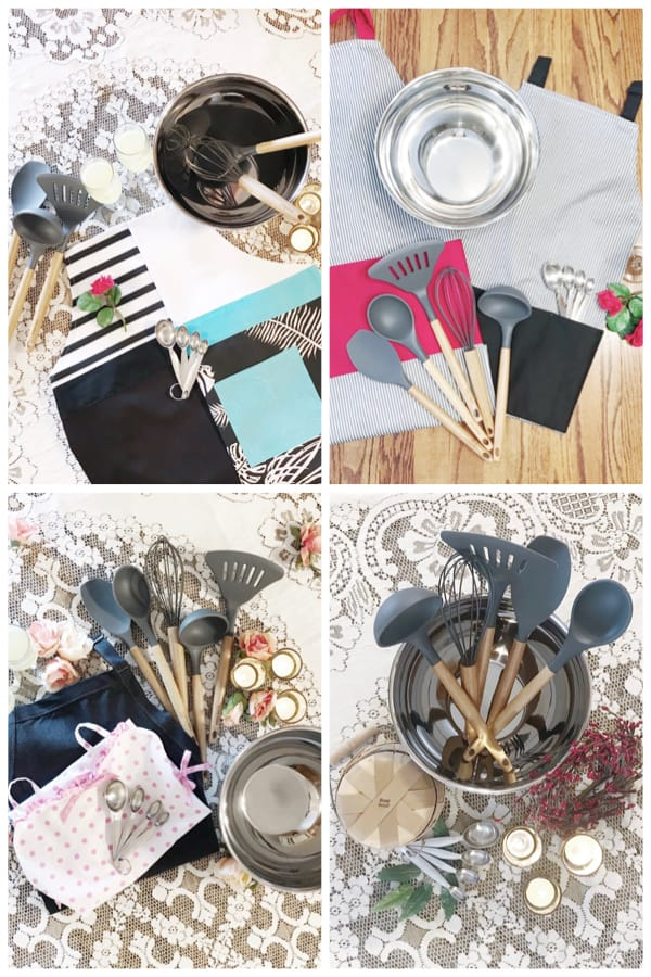 Flirty Apron Aprons and Kitchen Essential Housewarming Bundles