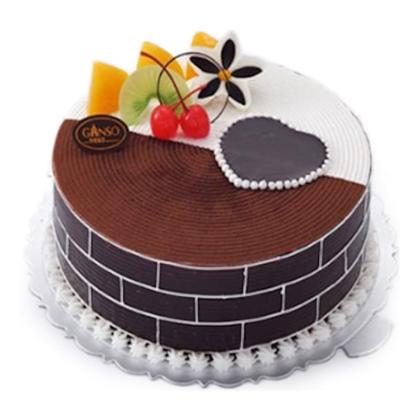 Elegant Chocolate Cake Realtor Closing Gift Delivered to China
