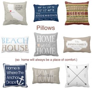 Pillows Real Estate Client Closing Thank you Gifts with Special Meaning