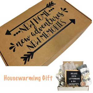 Unique New Home Realtor Closing Housewarming Gift Box