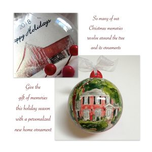 New Home Christmas Tree Ornaments Realtor Closing Holiday Gifts