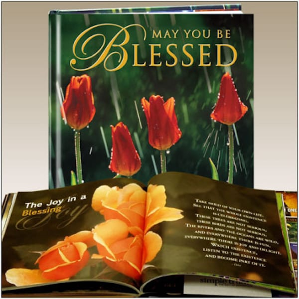 May you be Blessed Realtor Holiday Gift Book